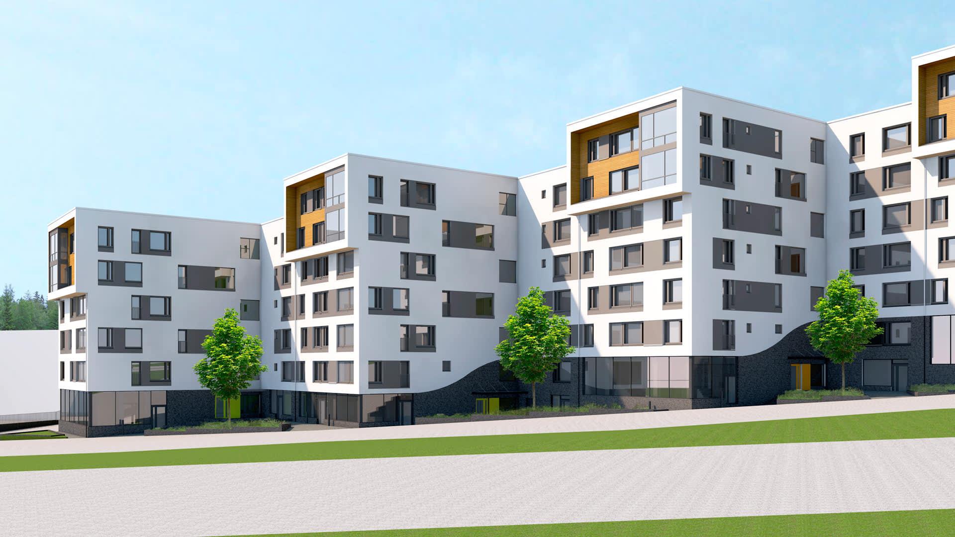 Helsingin Pikkutylli - Asunnot Helsinki - Lauttasaari - YIT Koti