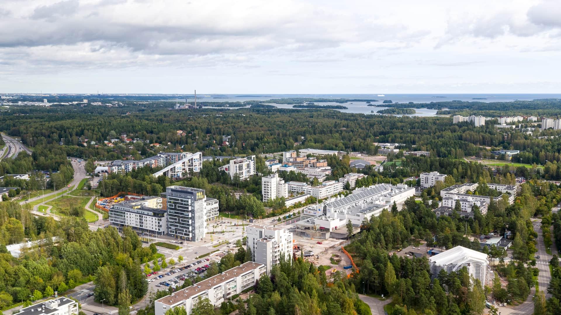 Ilmakuva Espoosta