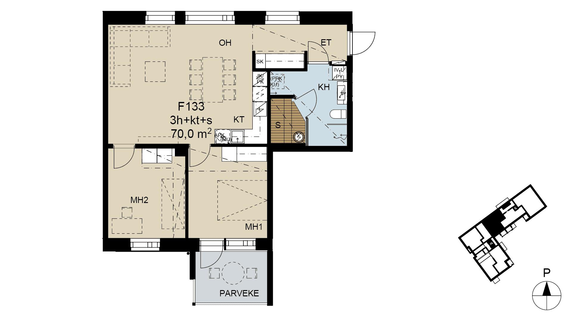 F 133