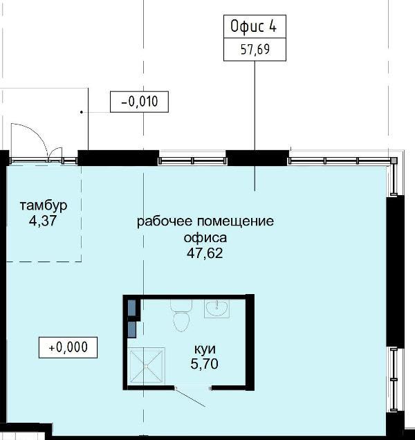 Нежилое помещение №4