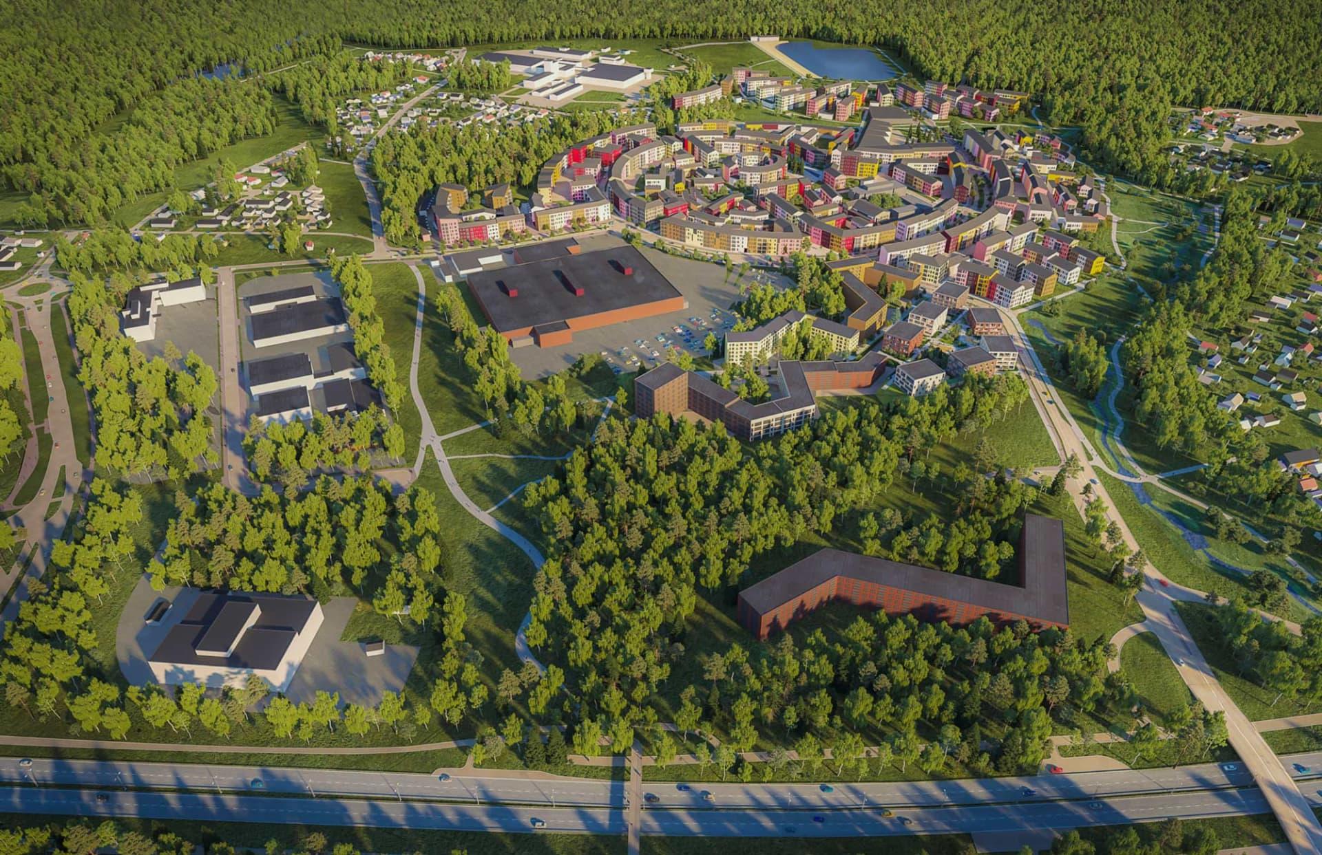 Asunnot Helsinki - YIT Koti - Kuninkaantammi