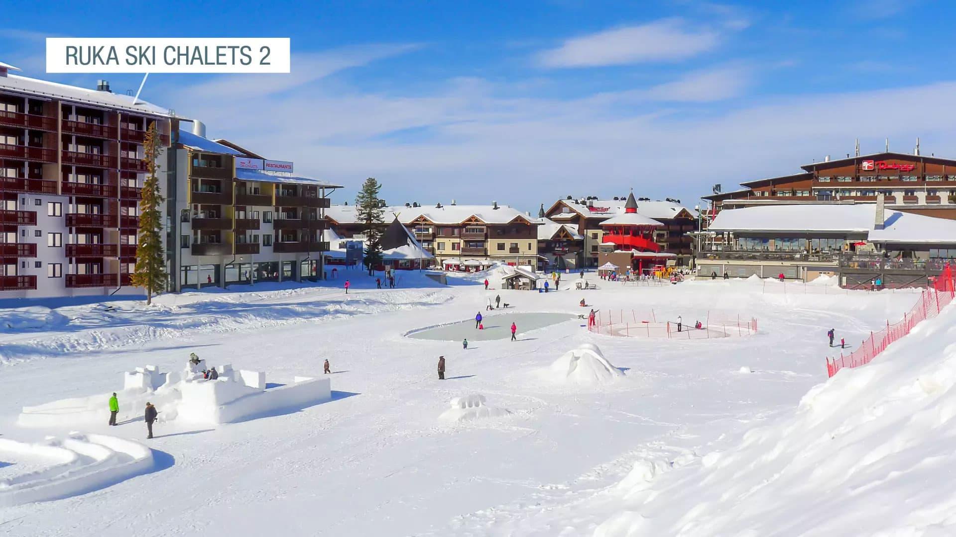 Ruka Ski Chalets 2 Myytavat Loma Asunnot Yit Fi
