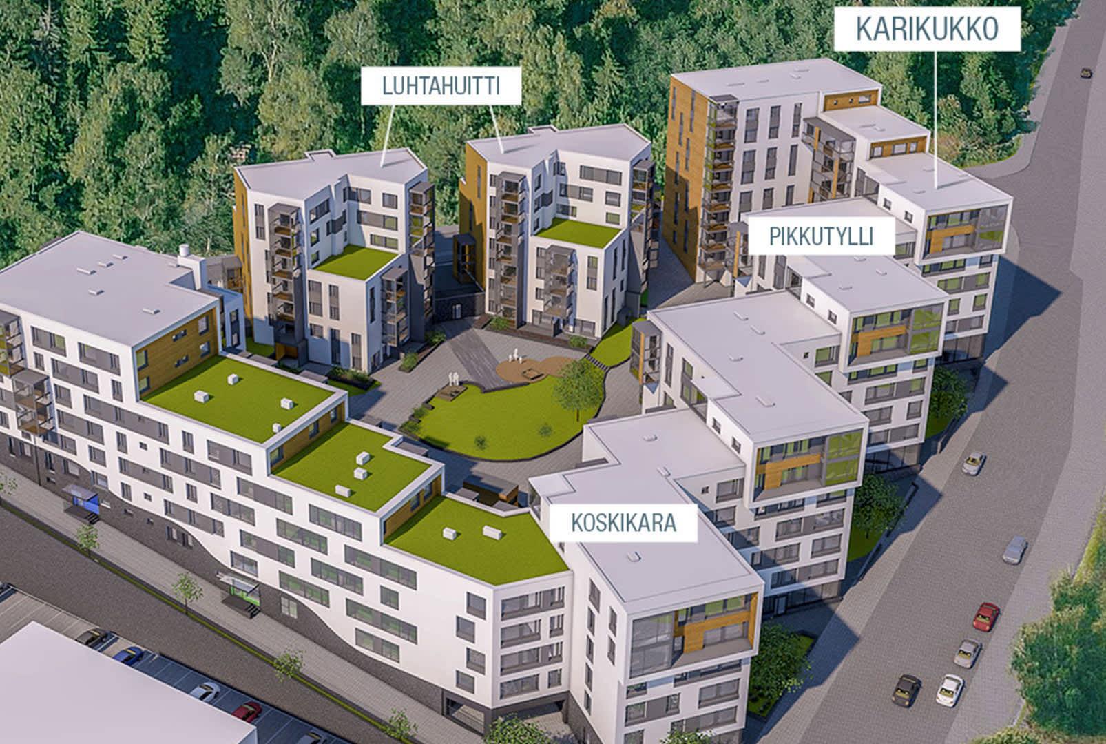 Helsingin Karikukko - Asunnot Helsinki - Lauttasaari - YIT Koti