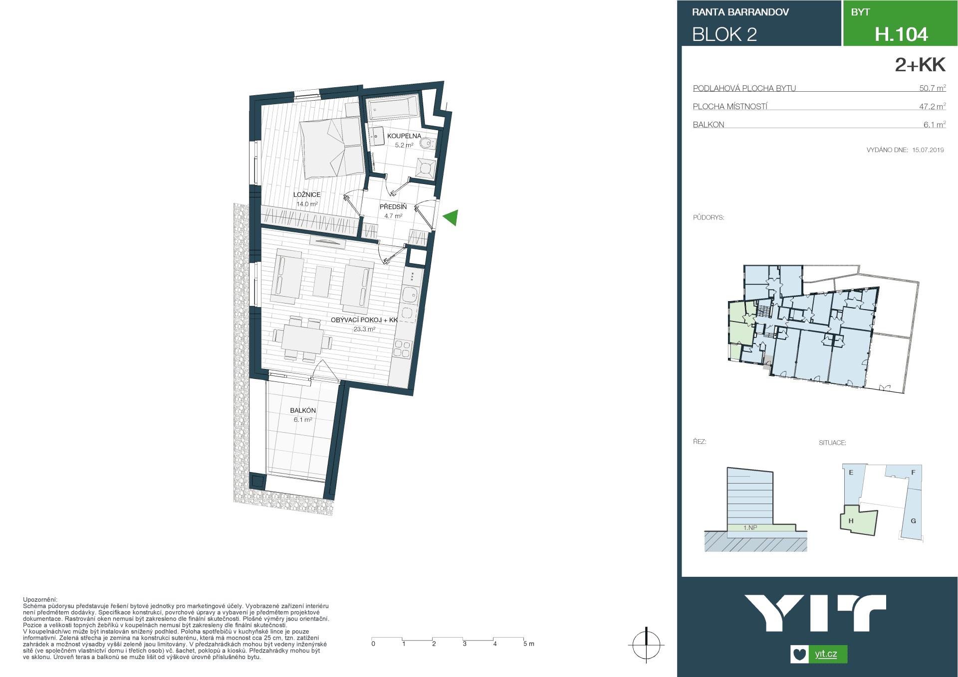 H 104