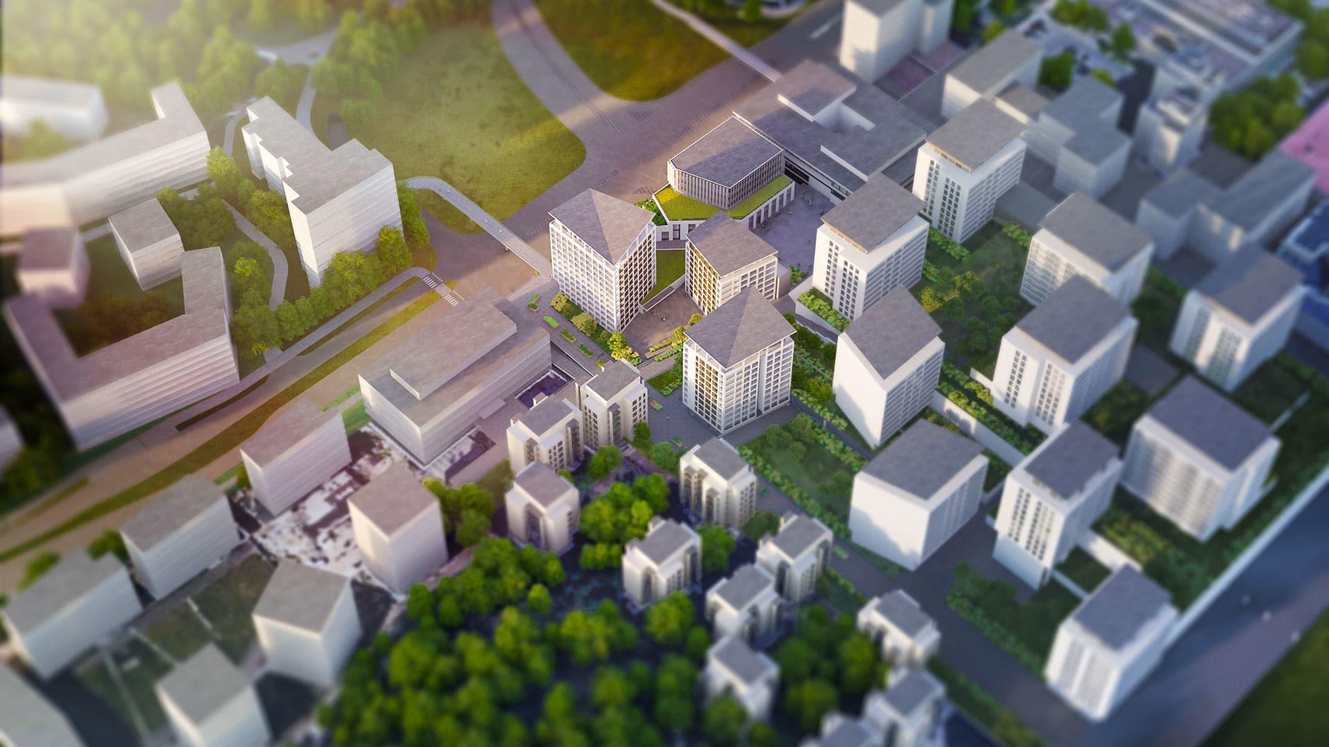 Tuultenristi on uusi asuinalue huippupaikalla Tapiolan keskustassa loistavien kulkuyhteyksien ja palveluiden vieressä.