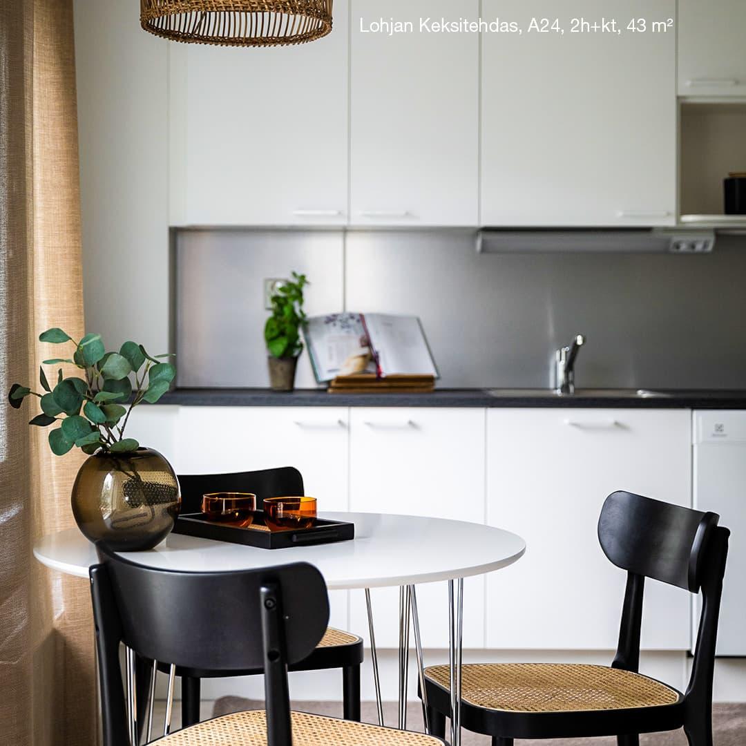 Asunto A24 - Lohjan Keksitehdas - YIT