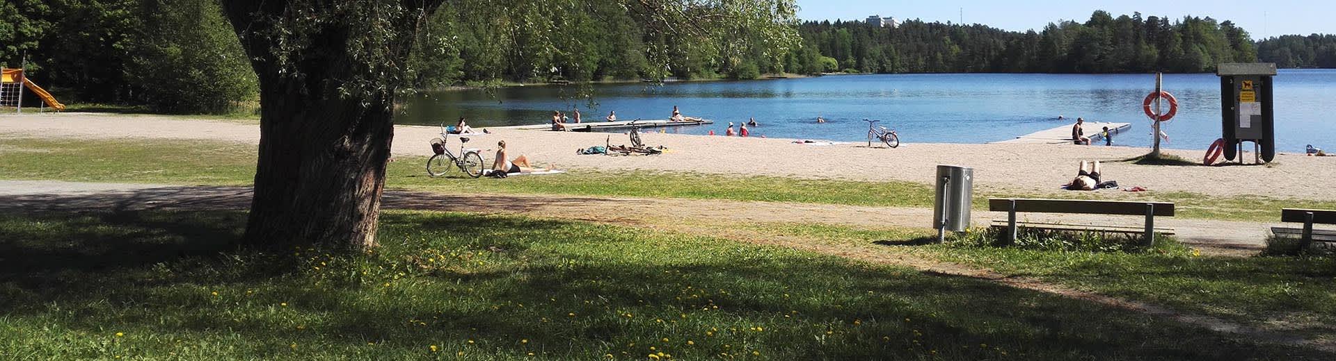 Joutjärven ranta, Lahti, Möysän uimaranta