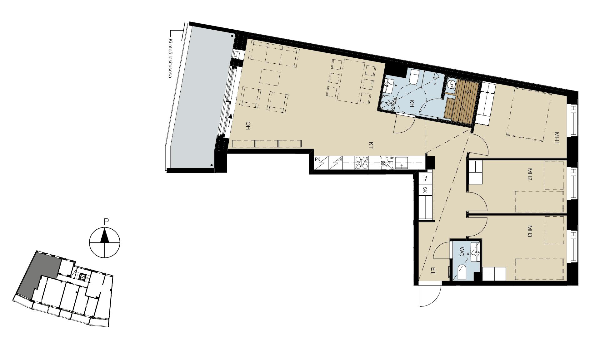 Espoon Helioksen asuntopohja - YIT