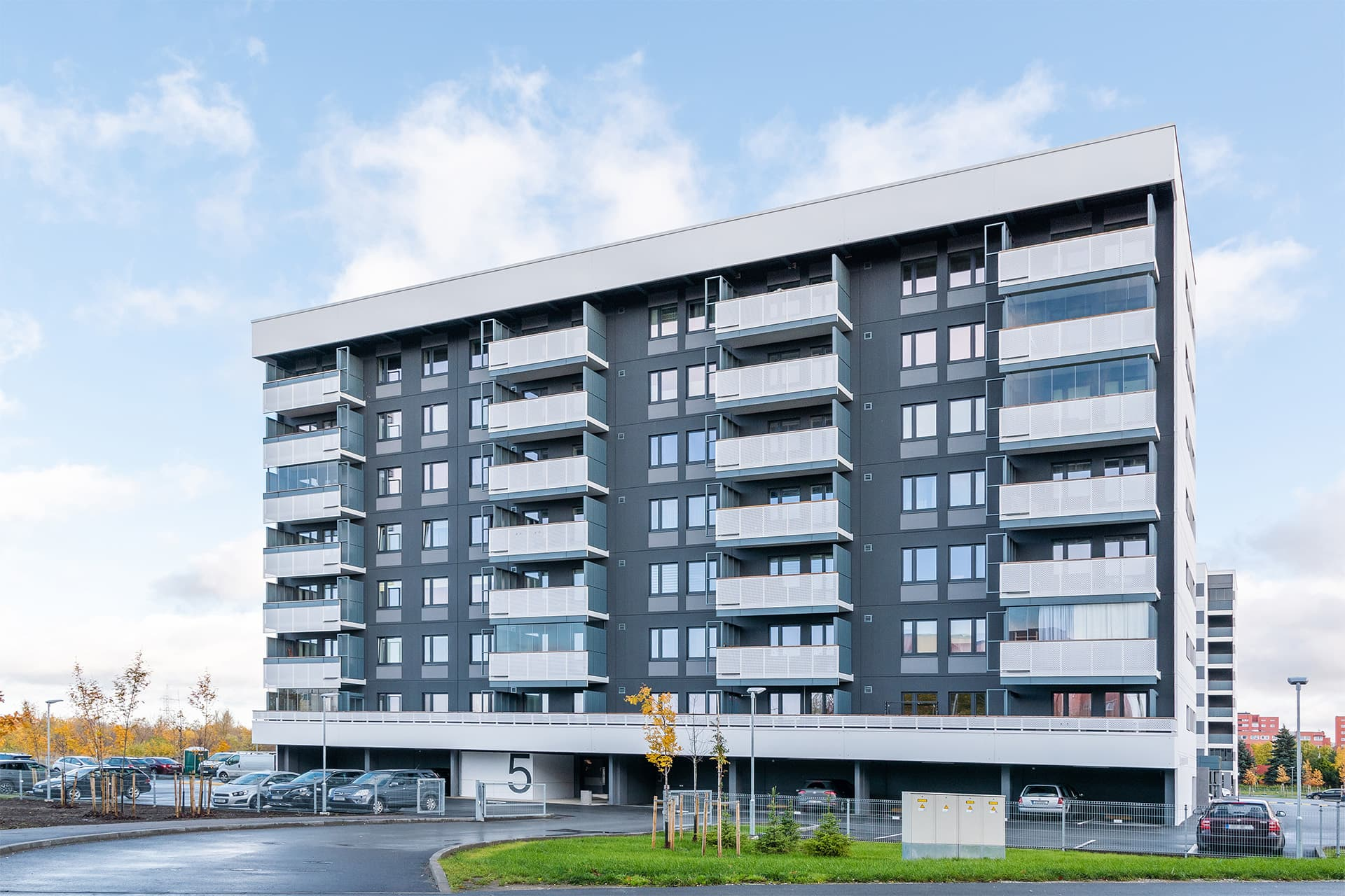 Apartment building at Liikuri 5