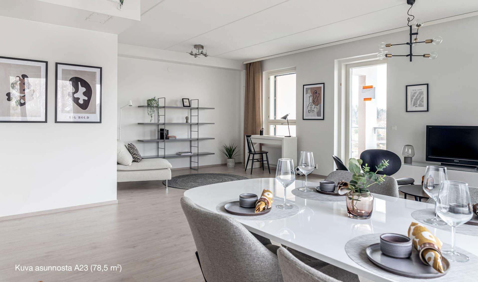 Asunto Oy Nurmijärven Unikko, Viirinlaakso - asunto A 23