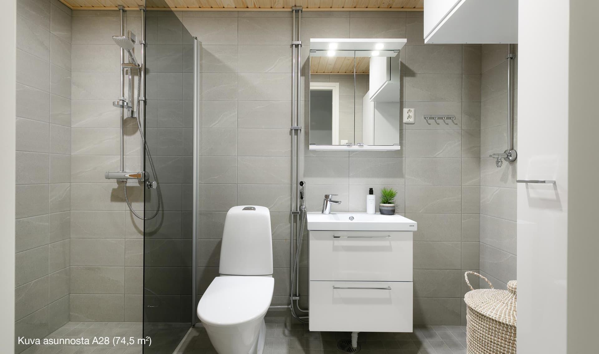 Asunto Oy Lohjan Keksitehdas, asunto A 28, 74,5 m2
