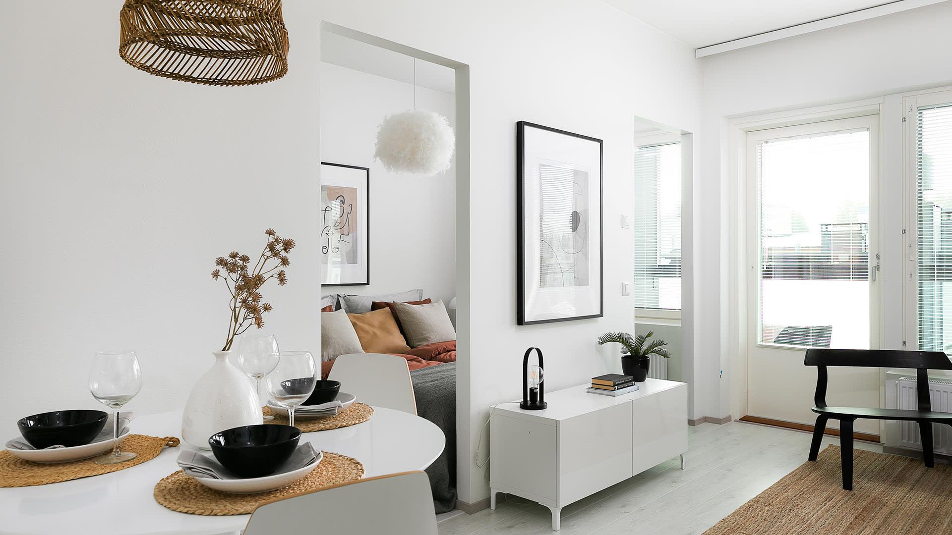 Asunto Oy Kauniaisten Herttua, 2h+kt, 40 m2