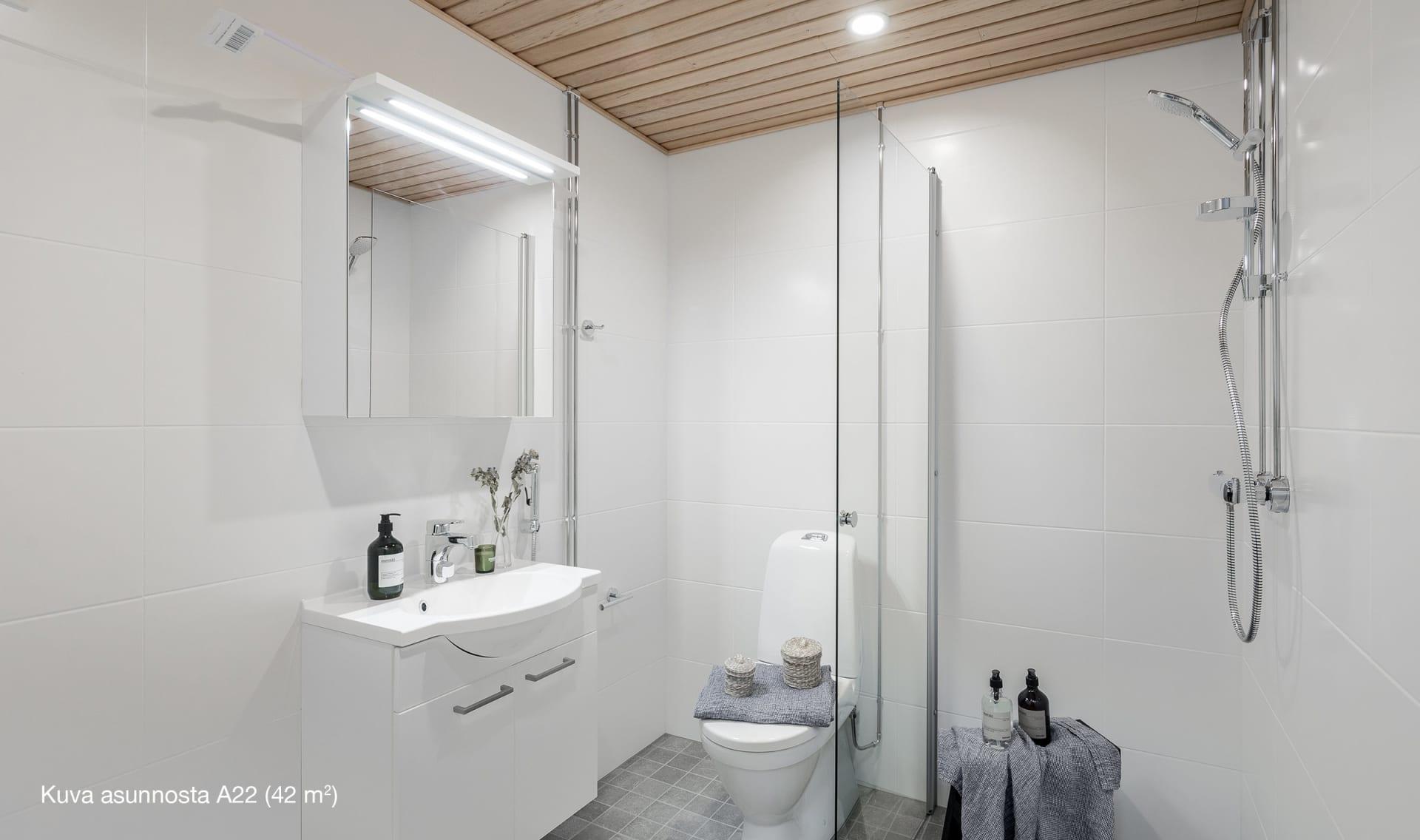 Asunto Oy Espoon Peurapuisto, 2h+kt, 42 m2