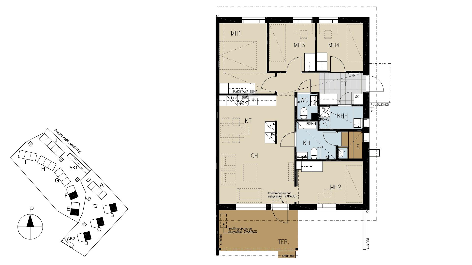 Tuusulan Kaarnan asuntopohja - Hyrylä - YIT Koti