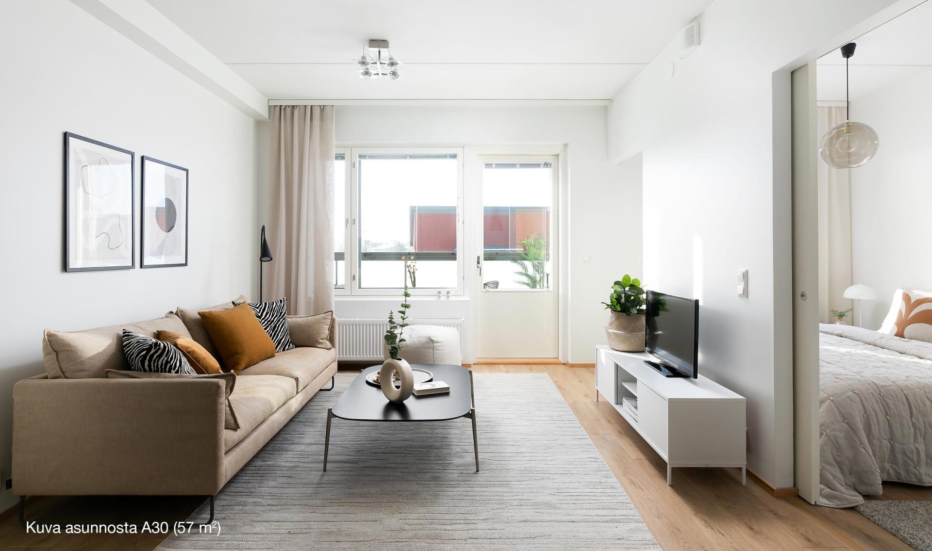 Nurmijärven Vehnäntähkä - A 30, 57 m2