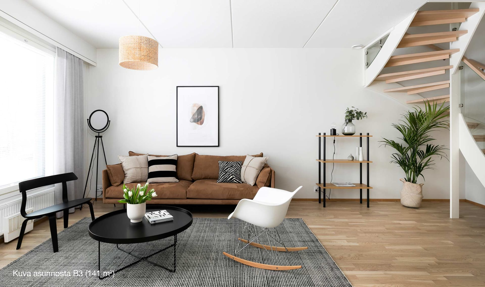 Helsingin Sahramirinne, 5h+kt+s, 141 m2