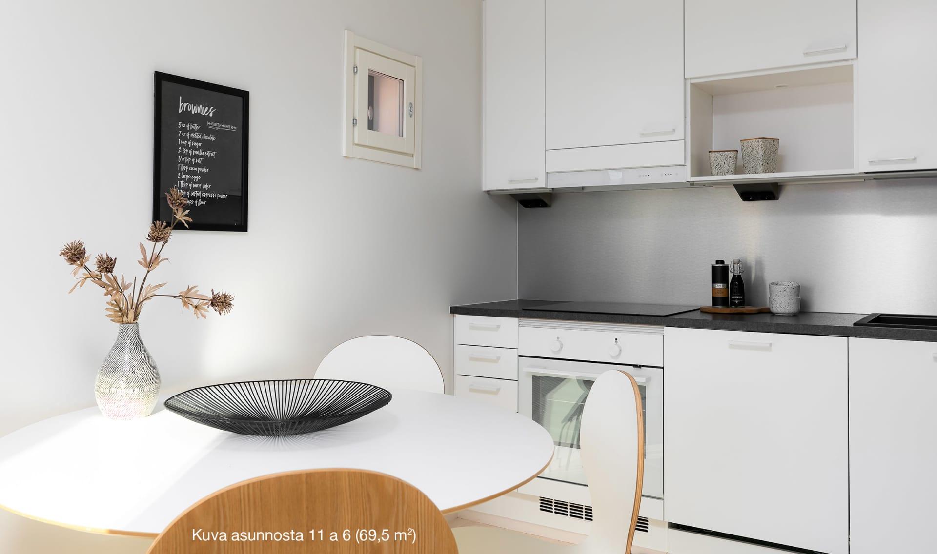 Hämeenlinnan Villa Marrone - 11 a 6 - 3h+k+s