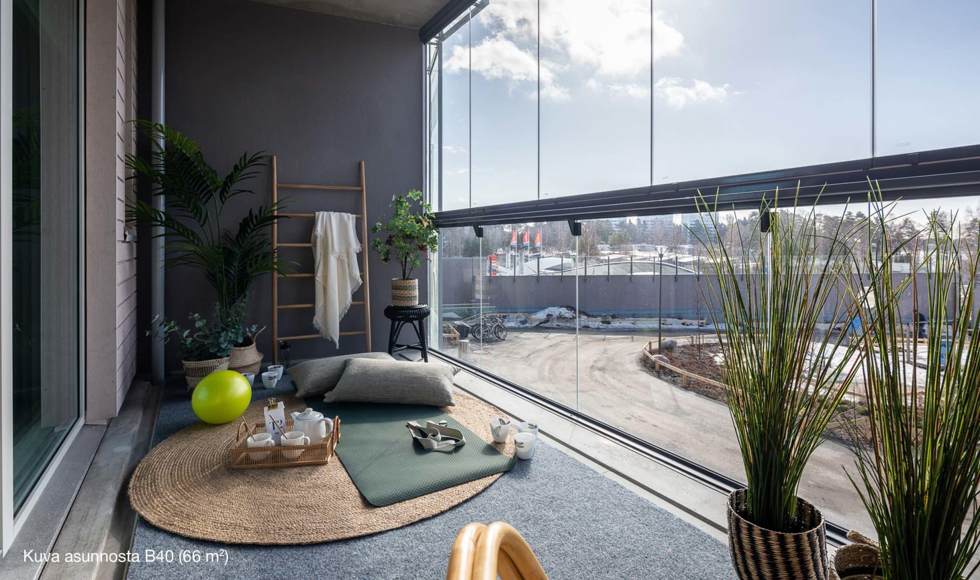 Myytävät asunnot Espoo, Kivenlahti - Asunto Oy Espoon Neptunus - 3h+kt, 66 m2