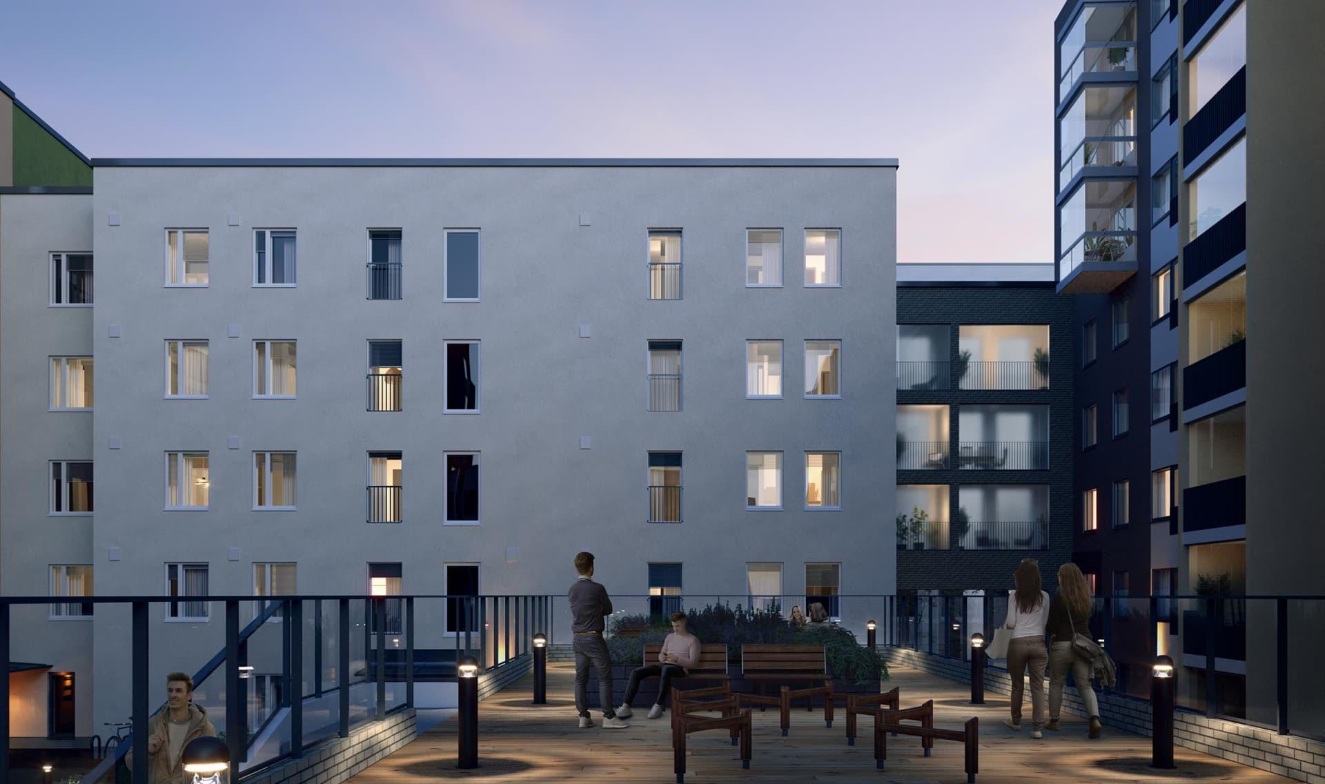 Myytävät asunnot Vantaa, Aviapolis - Asunto Oy Vantaan Taaleri