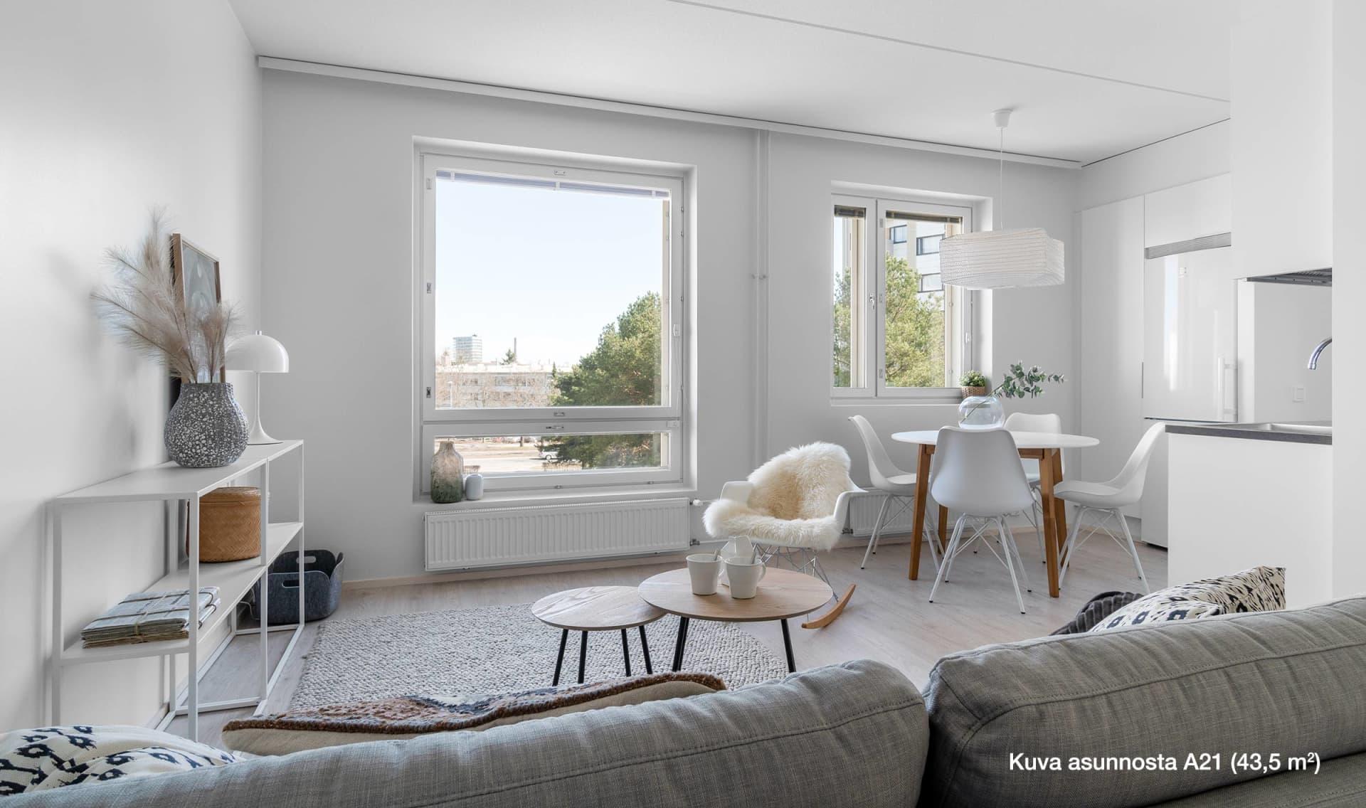 Myytävät asunnot Pori - Asunto Oy Porin Veturimies - YIT