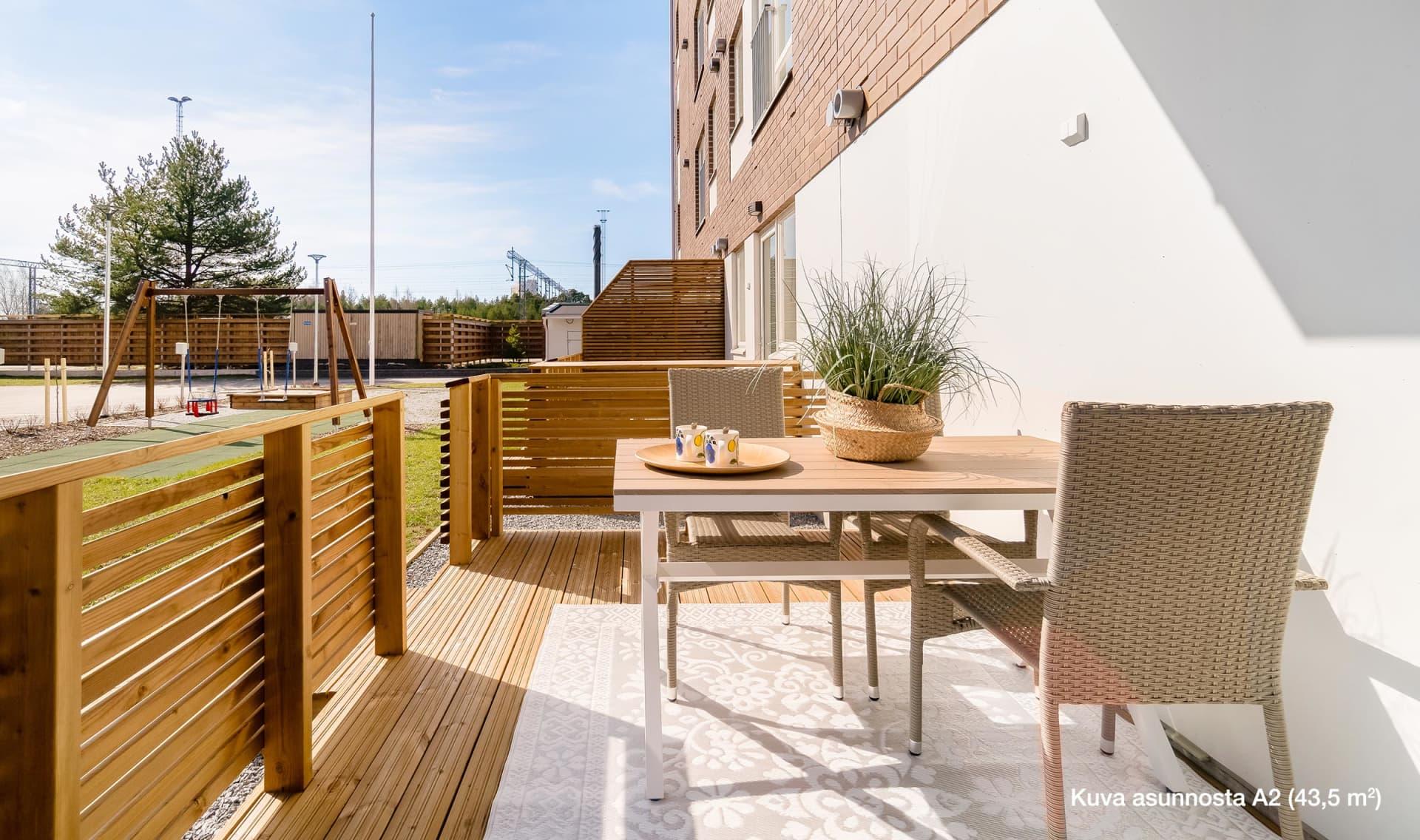 Myytävät asunnot Pori, Riihiketo - Asunto Oy Porin Veturimies