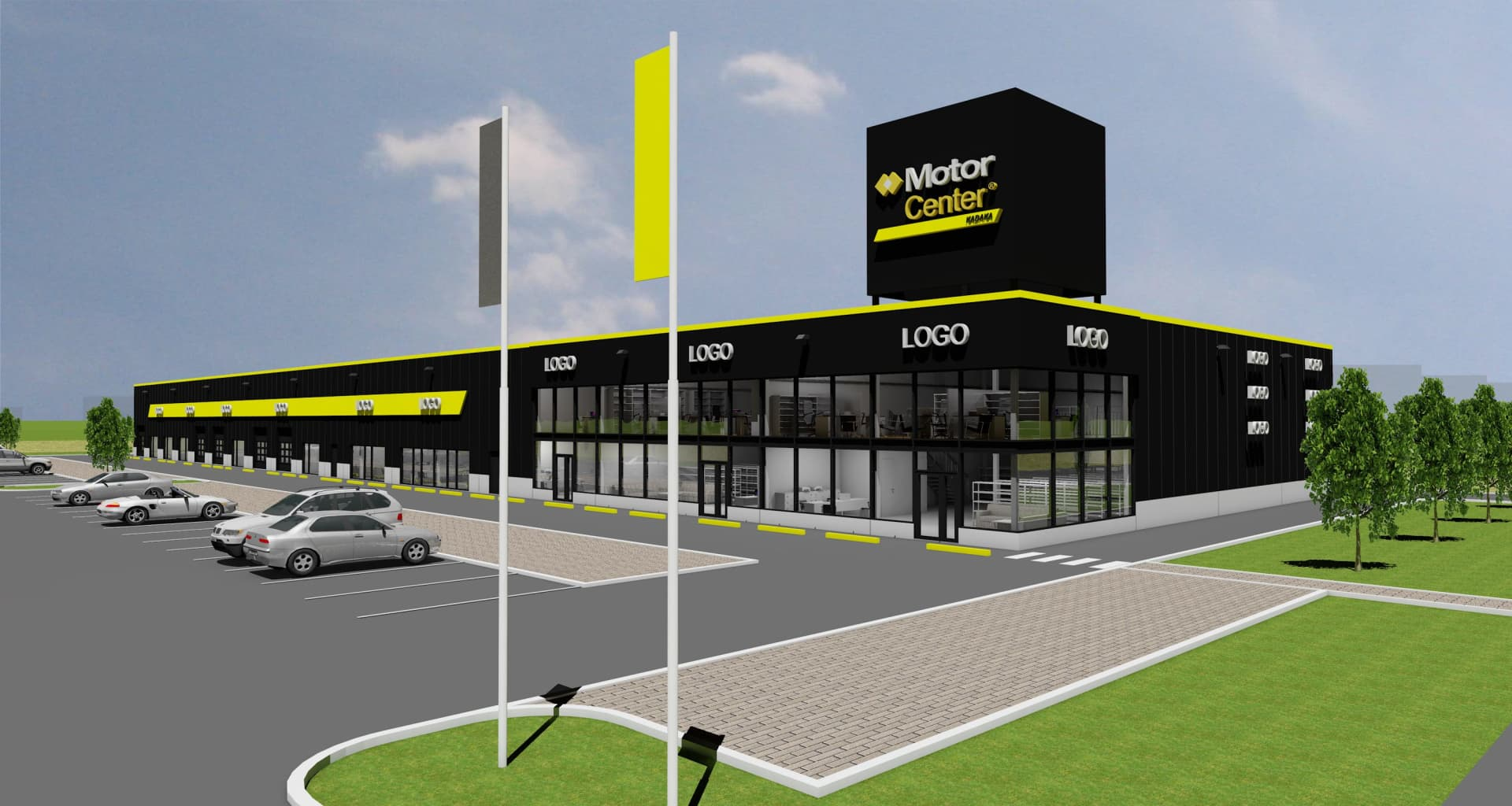MotorCenter Kadaka 3D