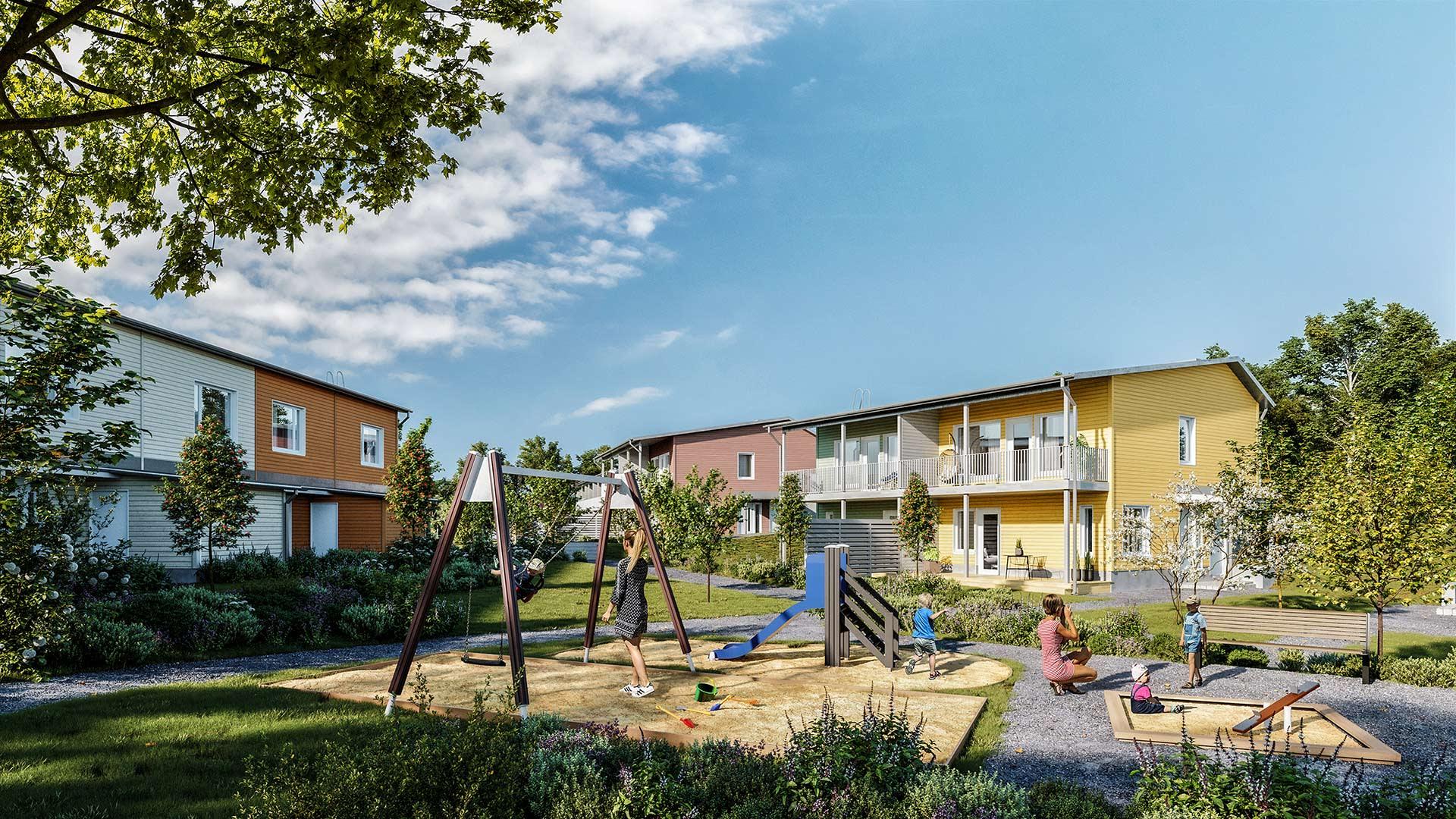 Myytävät asunnot Vantaa, Ylästö