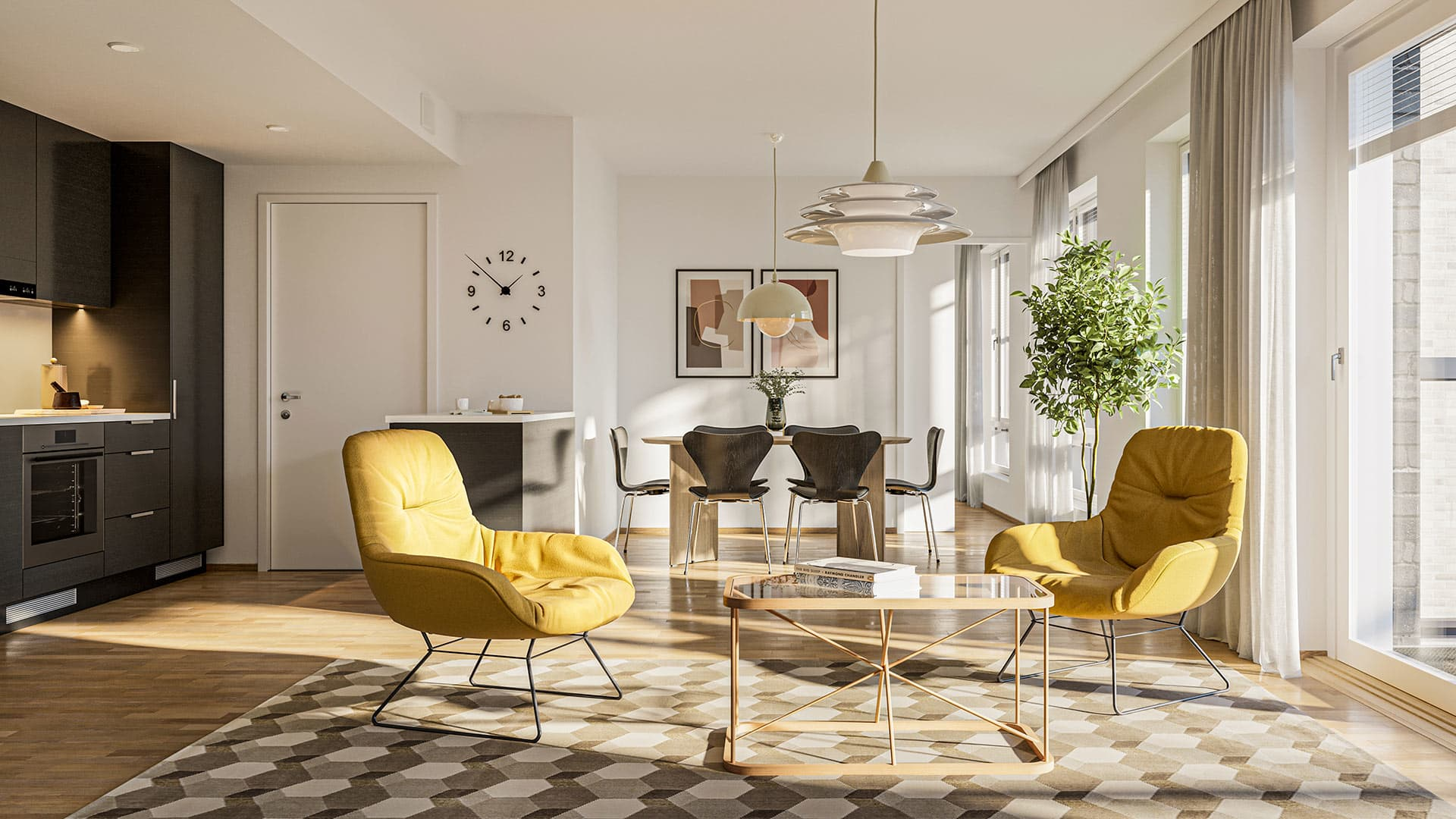 Myytävät asunnot Helsinki - Jätkäsaaren Grööna - YIT