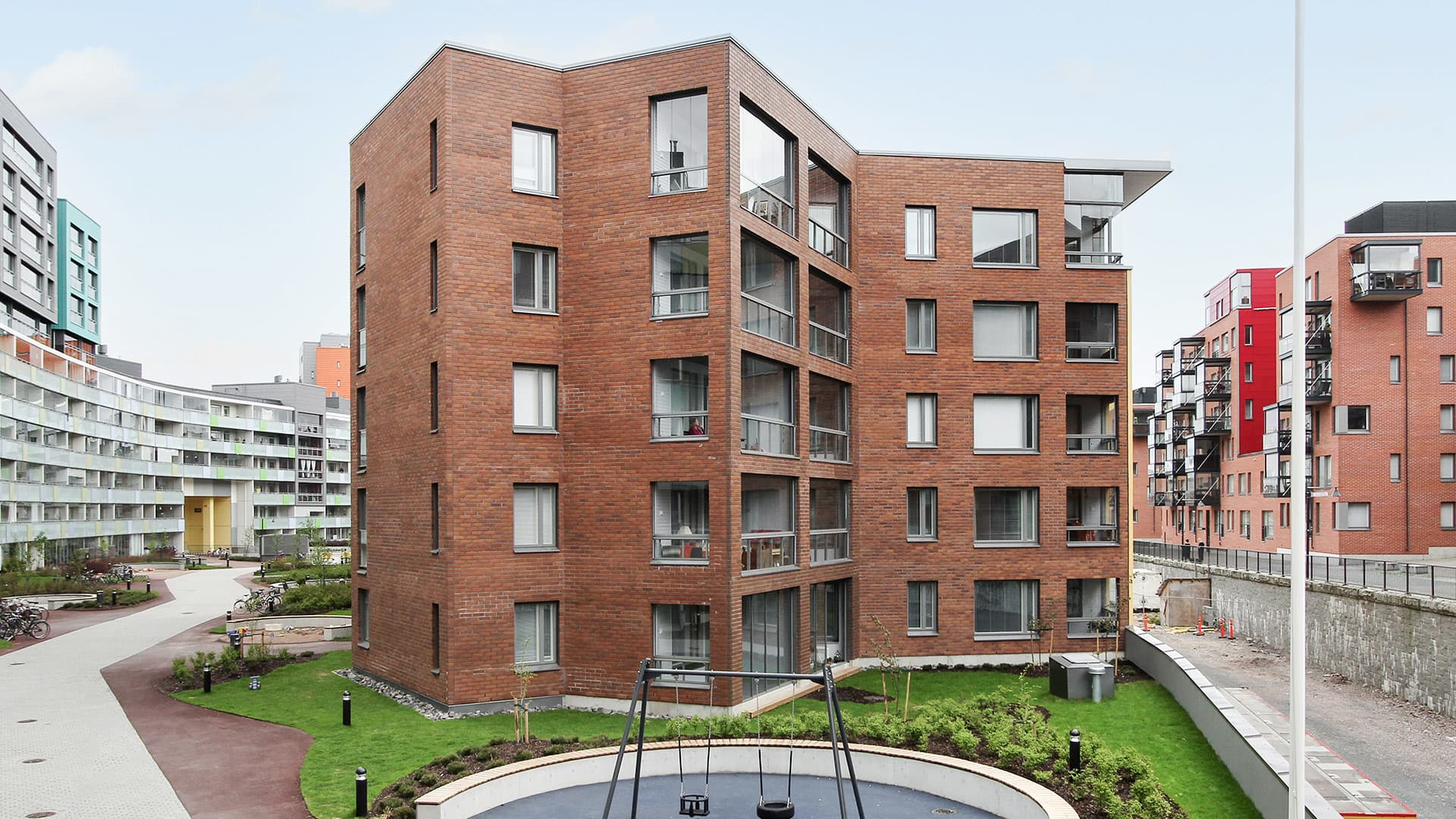 Myytävät asunnot Helsinki - Asunto Oy Helsingin Teodor, Vallilan Konepaja