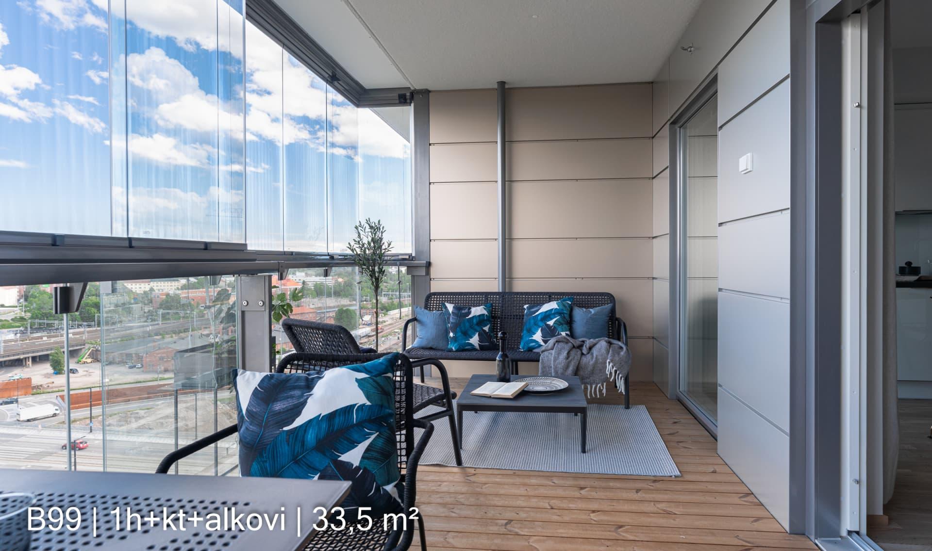 Myytävät asunnot Helsinki, Tripla, Pasila - Asunto Oy Helsingin Klyyga