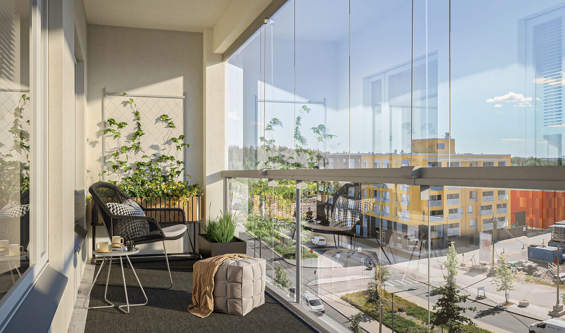 Myytävät asunnot Vantaa, Kivistö - Asunto Oy Vantaan Kangastus