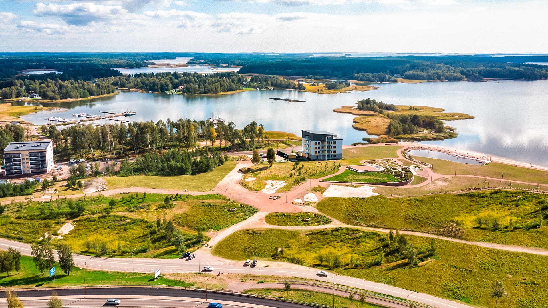 Asunto Oy Haminan Ruori, Tervasaari