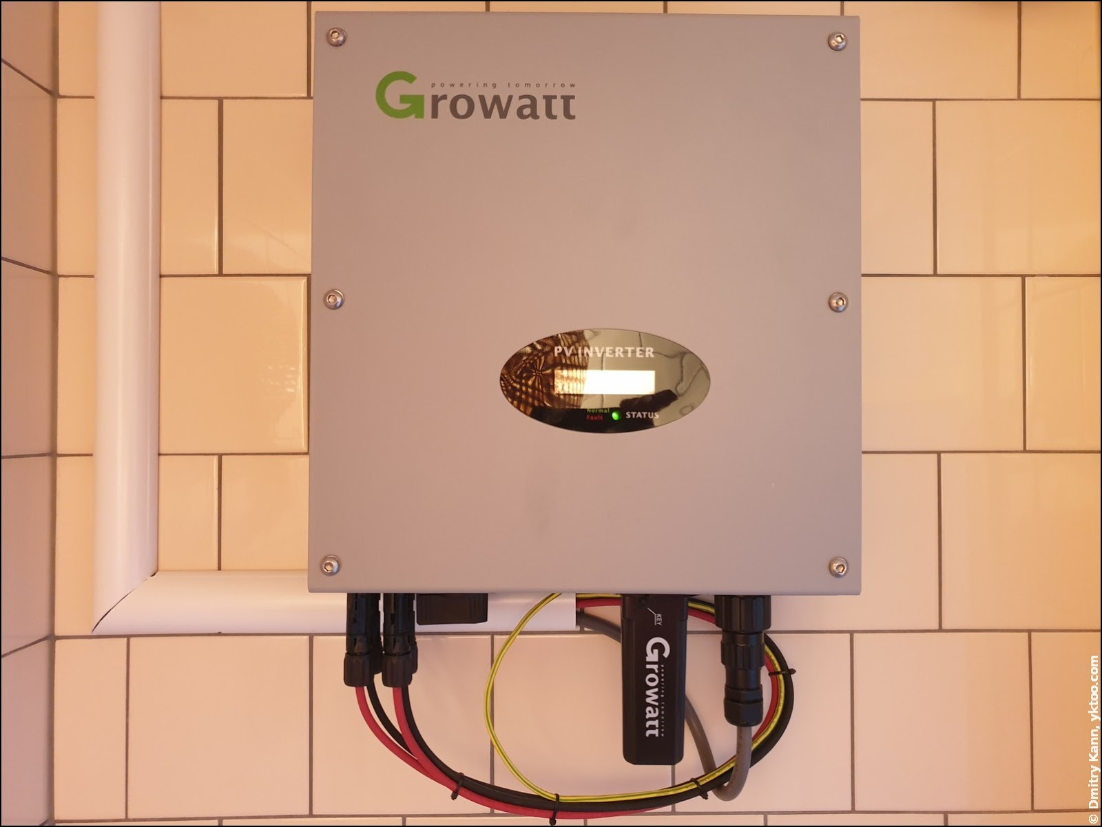 Инвертор Growatt 3600MTL-S.