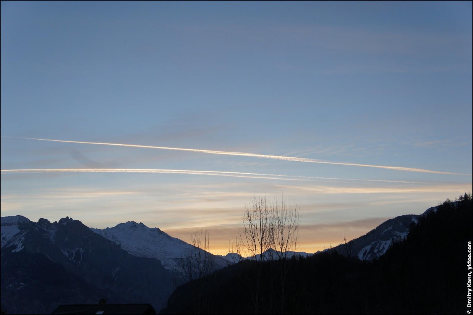 Daybreak in Les Bottières.