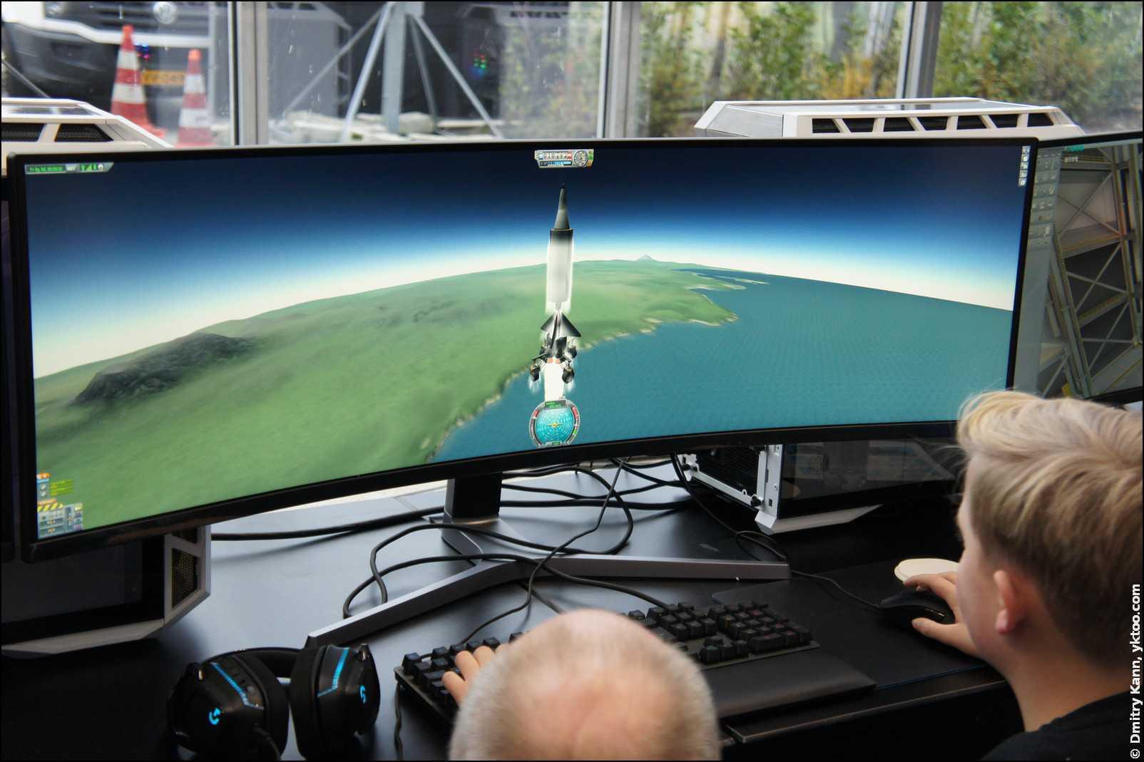 Ракетный симулятор DARE (Delft Aerospace Rocket Engineering).