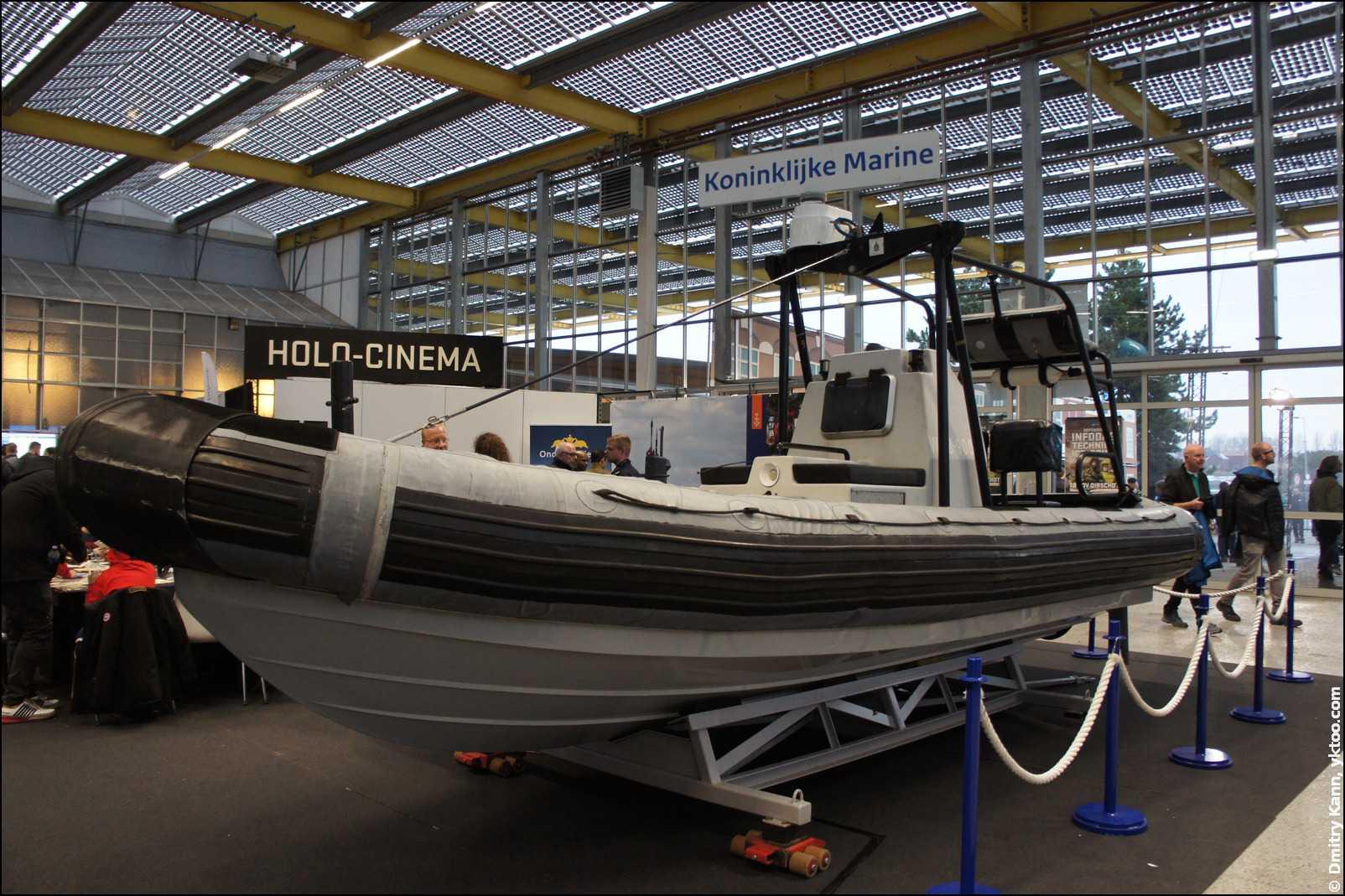Лодка ВМС Нидерландов.