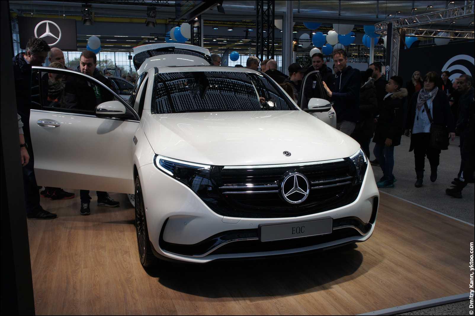 Mercedes EQC.
