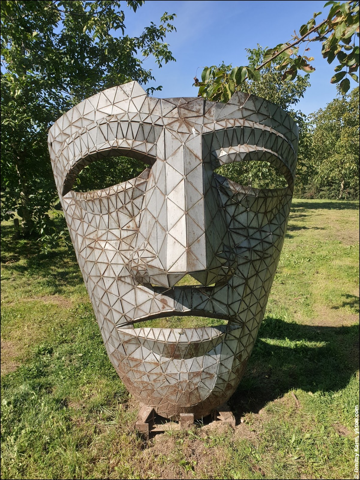 Римская маска Хаутена.