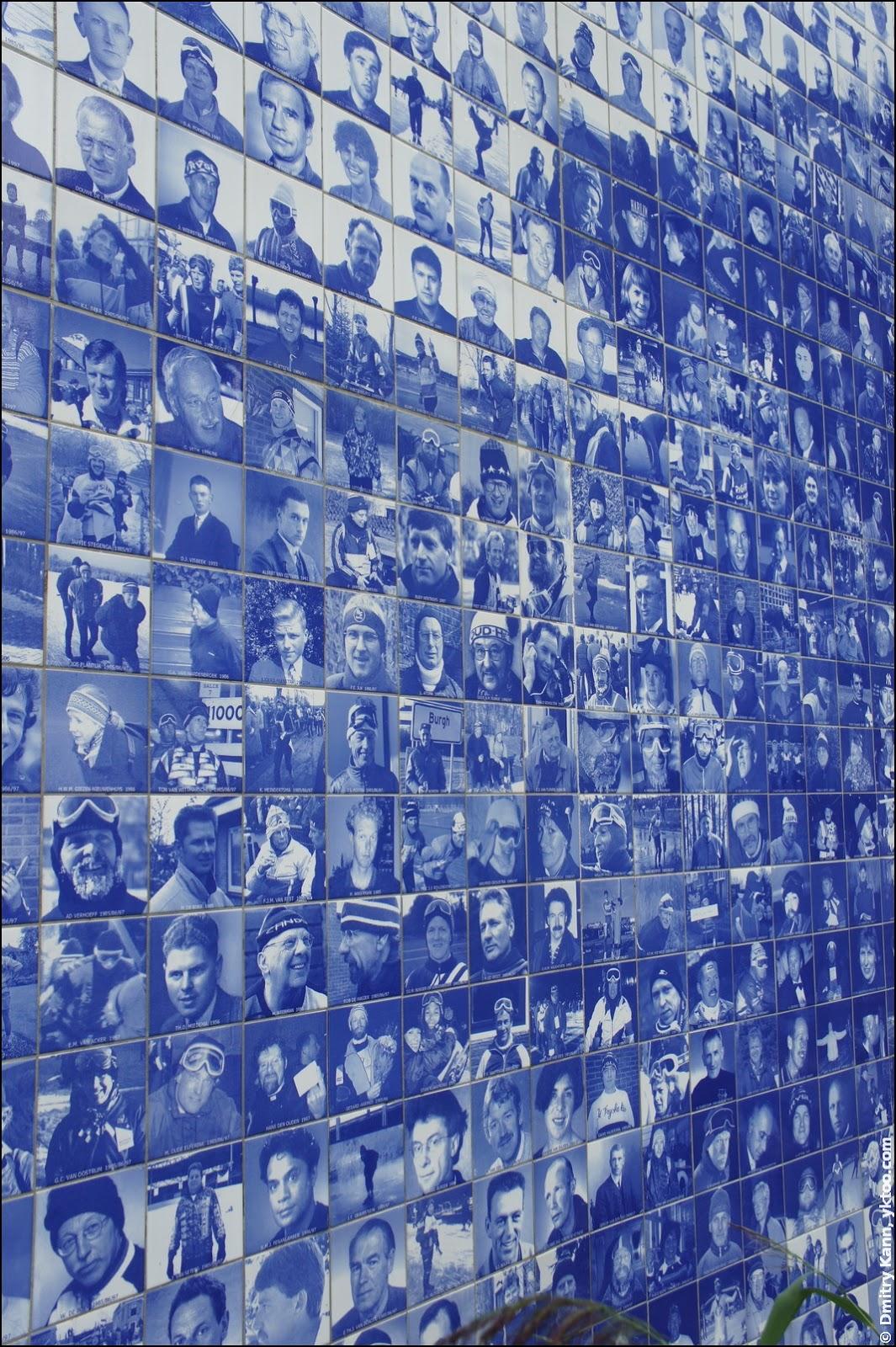 Elfstedenmonument — Более 7000 плиток.