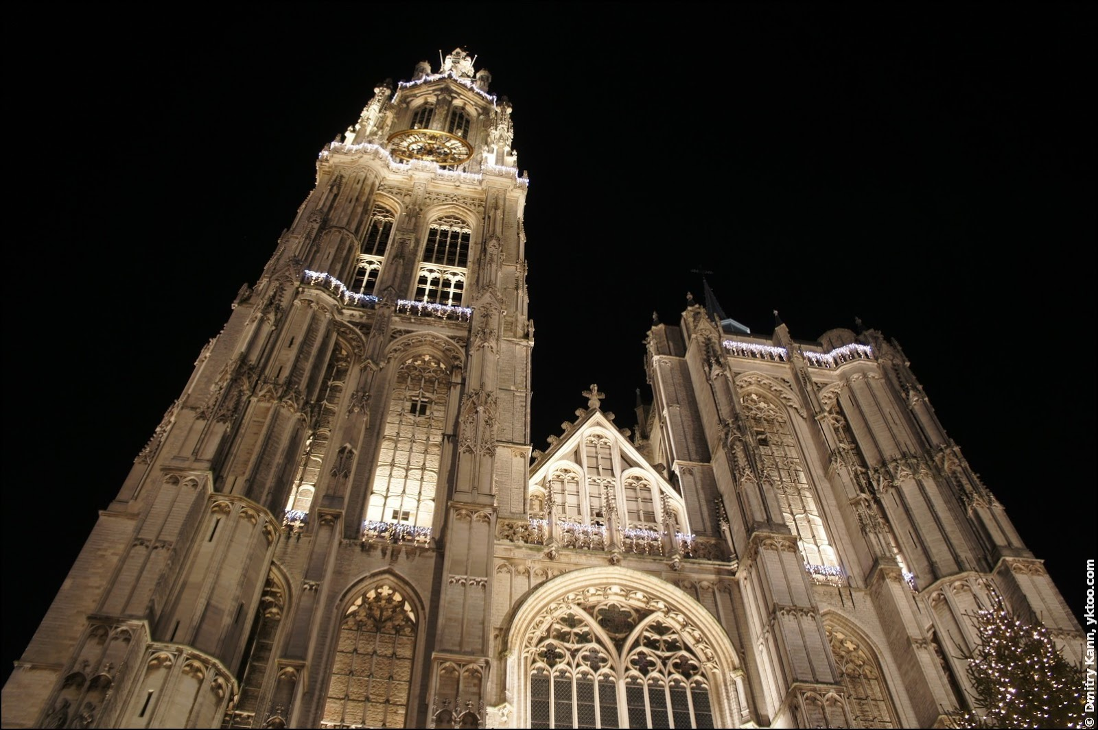 Cathedral in Antwerp, Belgium.