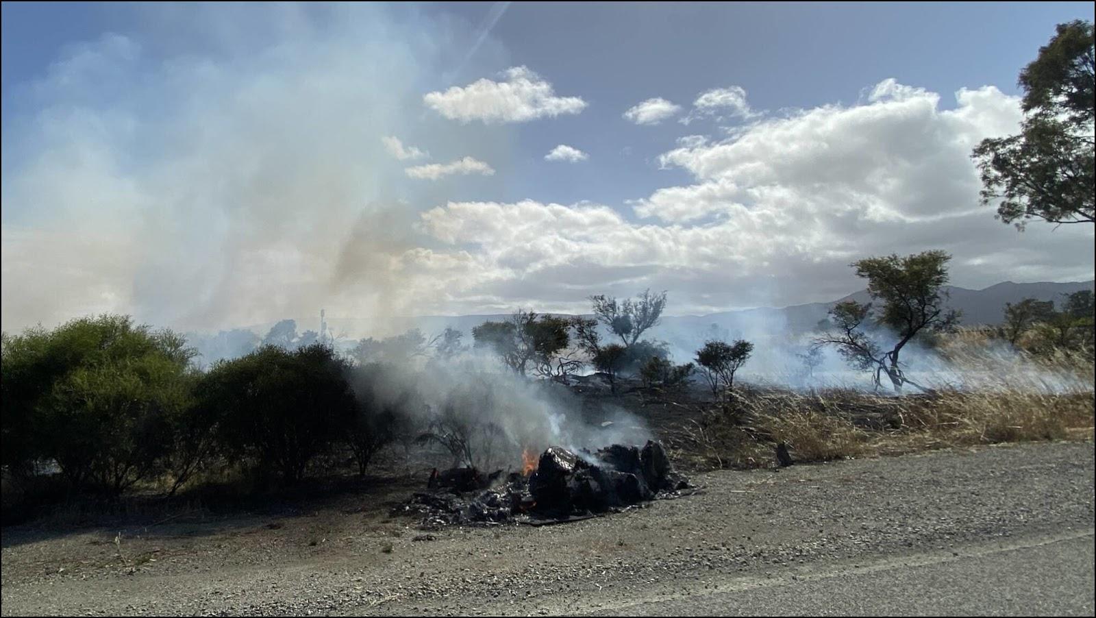 Всё, что осталось от NunaX. Фото: Vattenfall Solar Team.