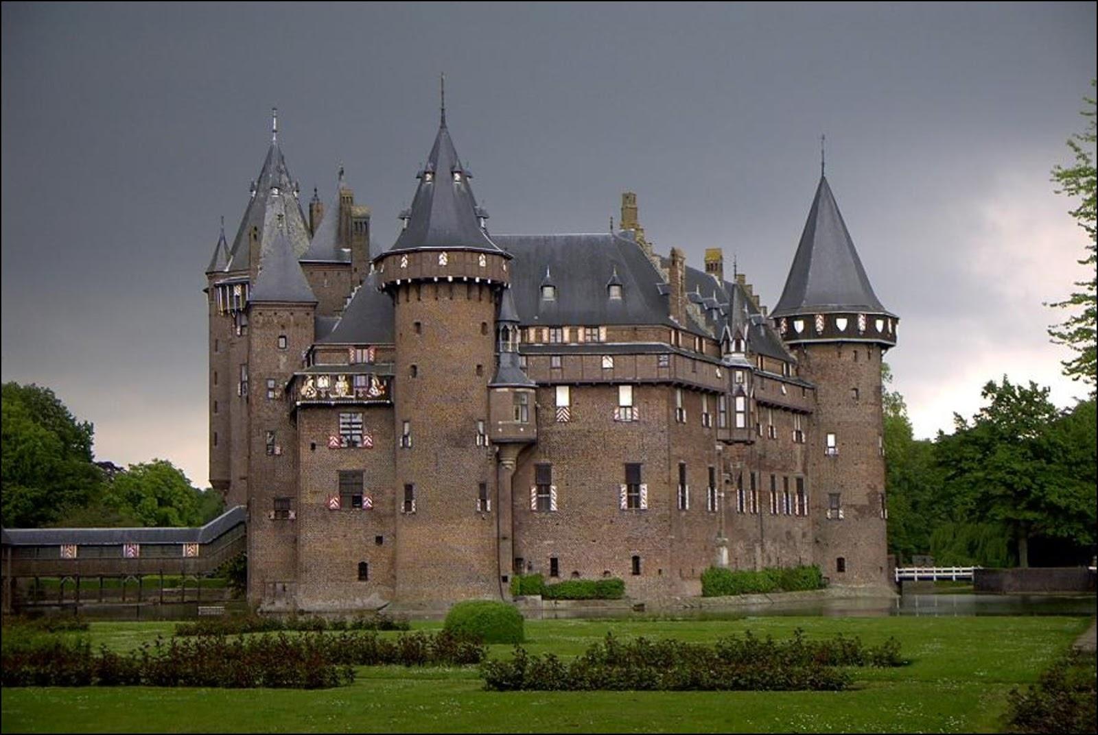 Замок De Haar. Фото Wikimedia.