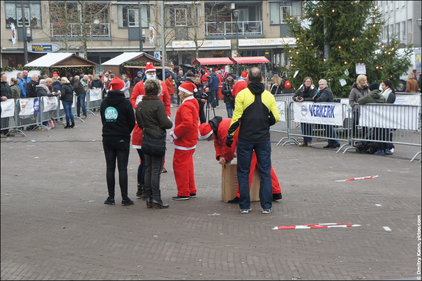 Rotary Santa Run Houten.