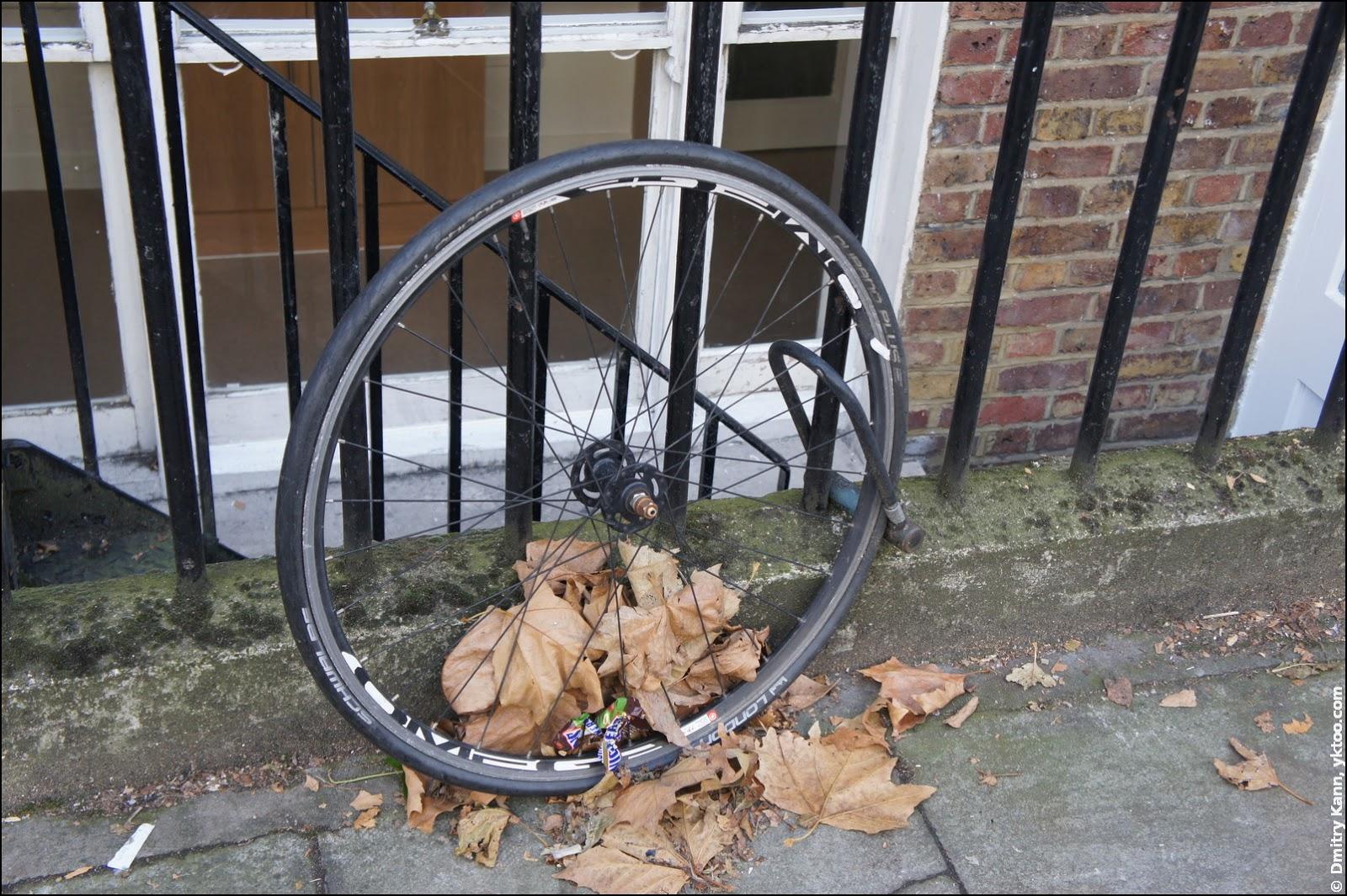 Почему за переднее колесо велосипед не следует прицеплять.