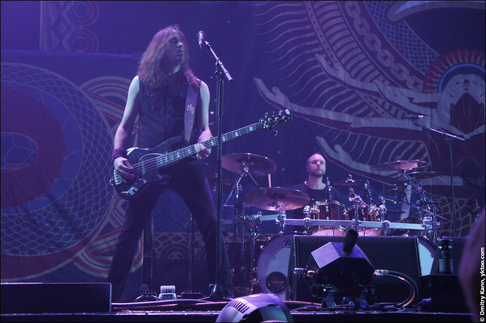 Amorphis: Niclas Etelävuori & Jan Rechberger.