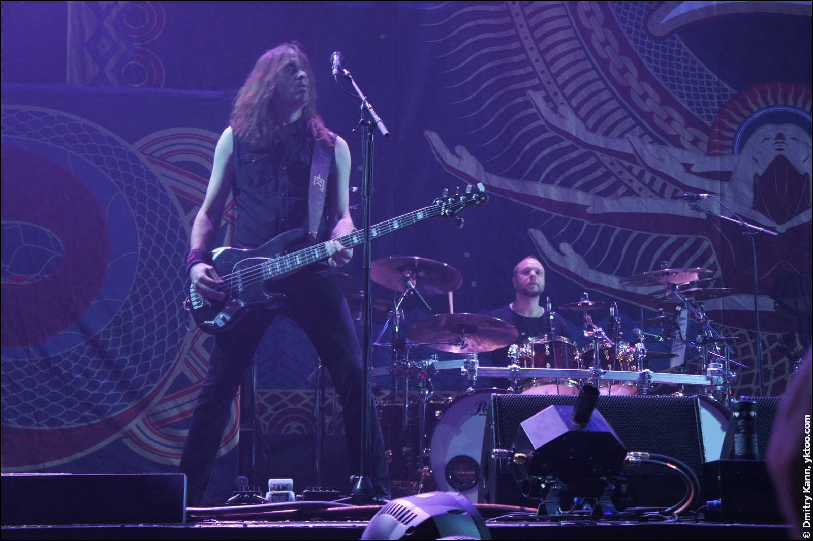 Amorphis: Niclas Etelävuori и Jan Rechberger.