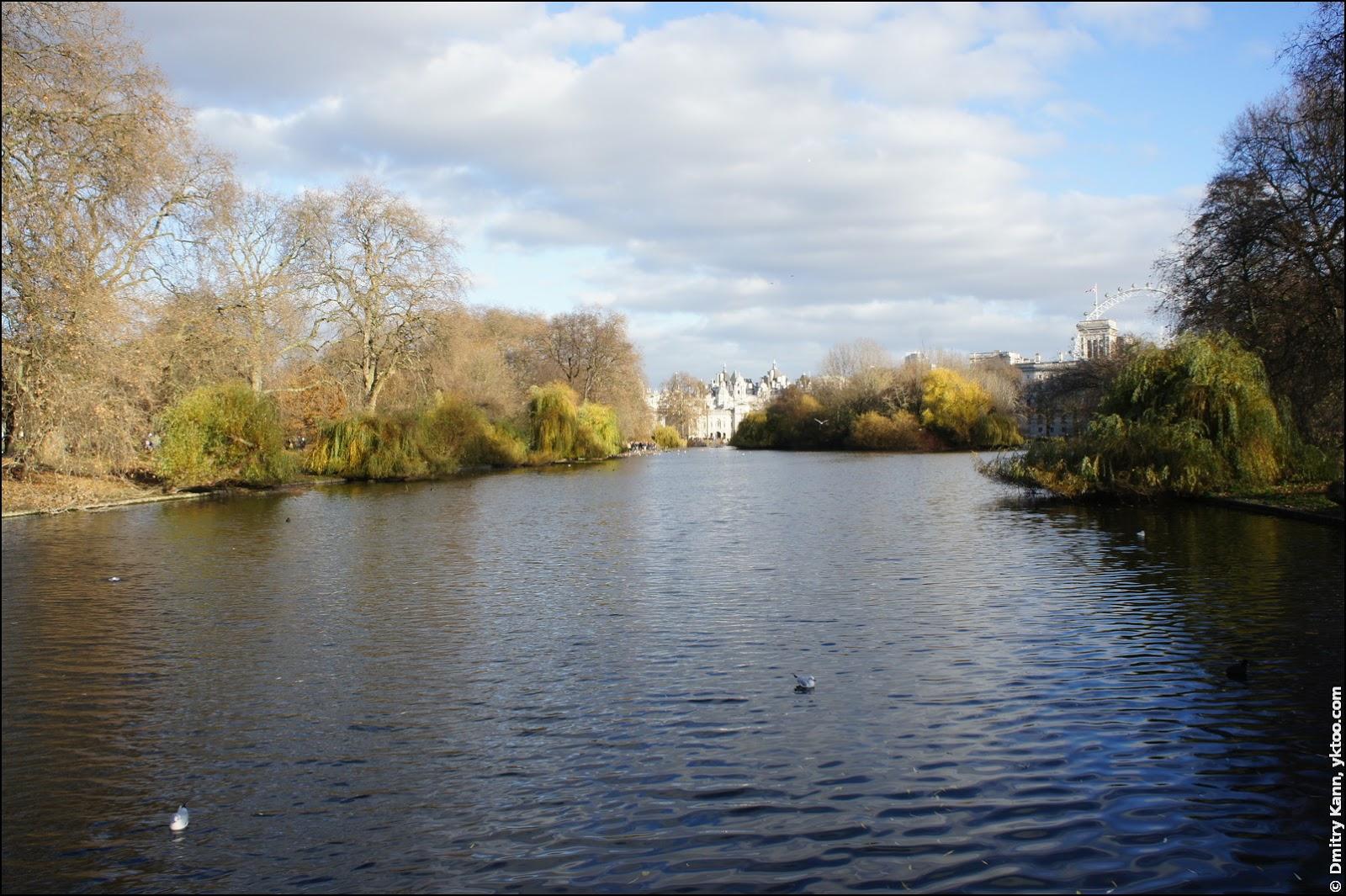 Сент-Джеймсский парк.
