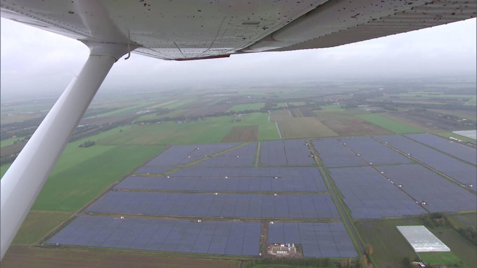 Крупнейшая солнечная электростанция в Бенилюксе (г. Колхам). Фото NOS.