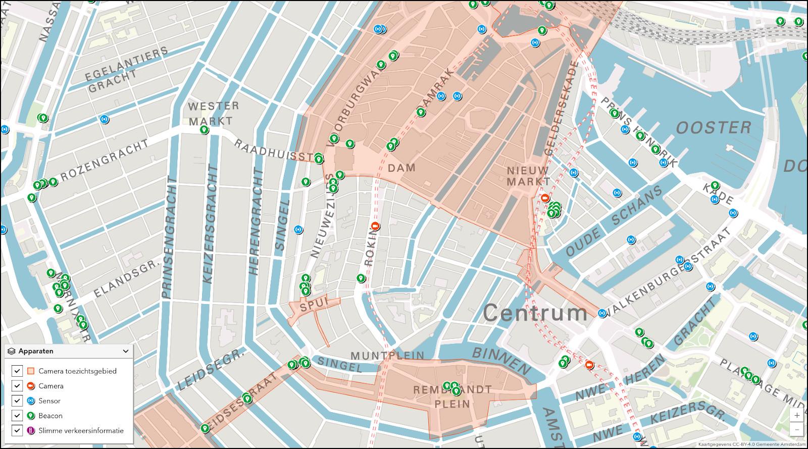 Скриншот интерактивной карты. Источник: Gemeente Amsterdam/CC-BY-4.0.
