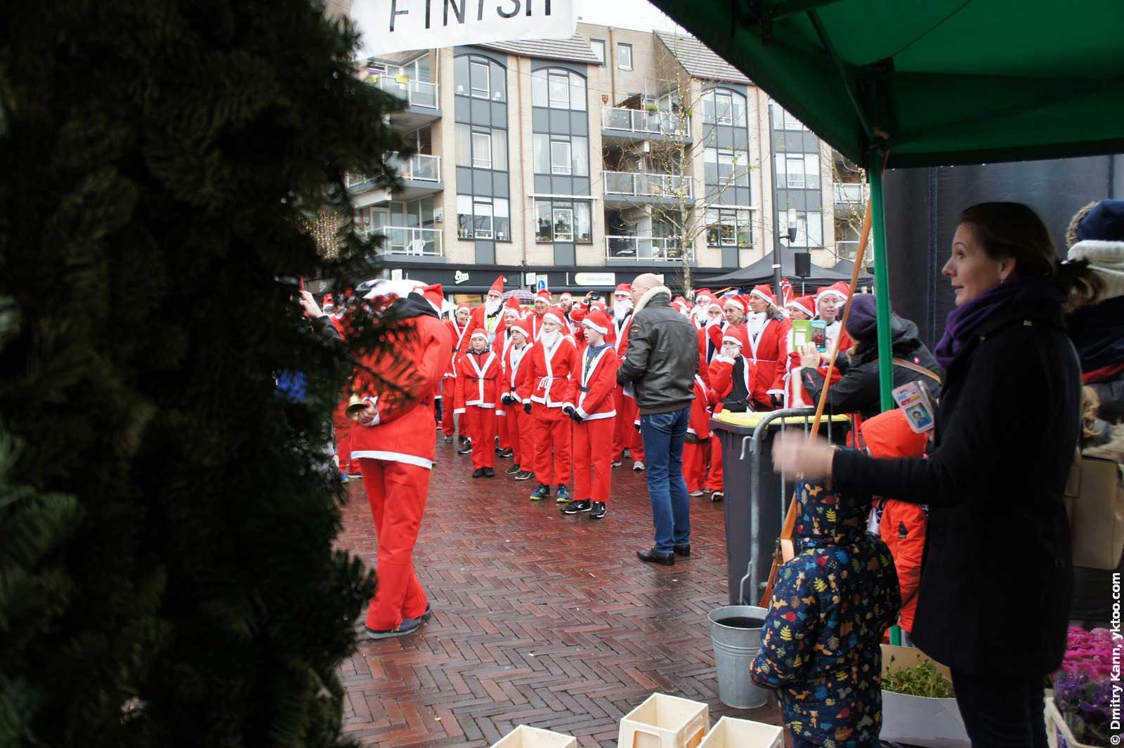 Rotary Santa Run Houten. Перед стартом.